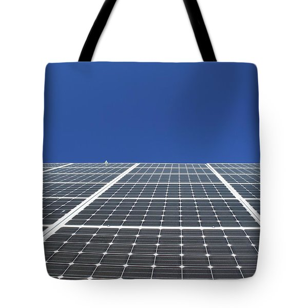 Sky Grid  Tote Bag by Lyle Crump