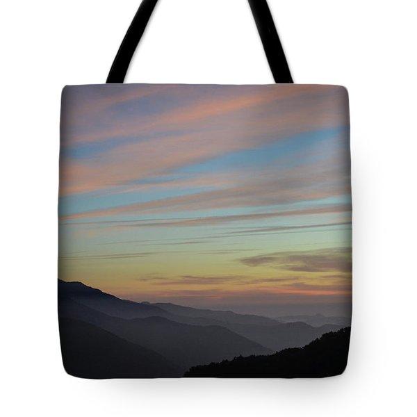 Sky Haze Tote Bag