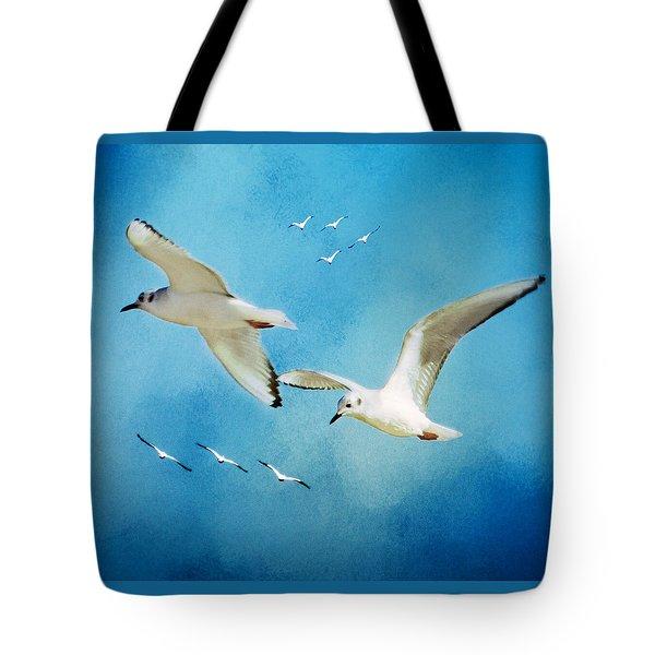 Sky High Flight Tote Bag