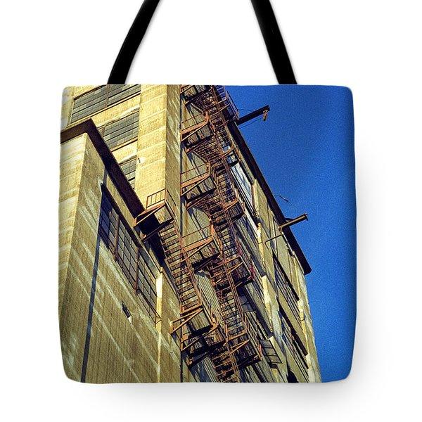 Sky High Warehouse Tote Bag