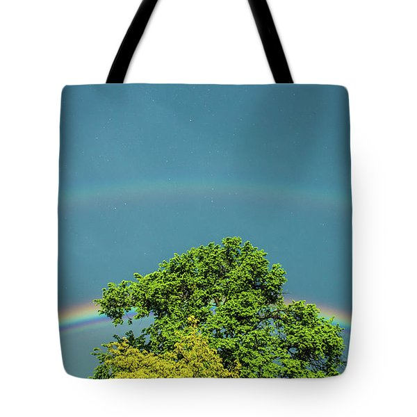Tote Bag featuring the photograph Sky Is Falling by Tyson Kinnison