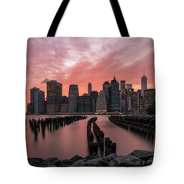 Sky Is Lit Tote Bag