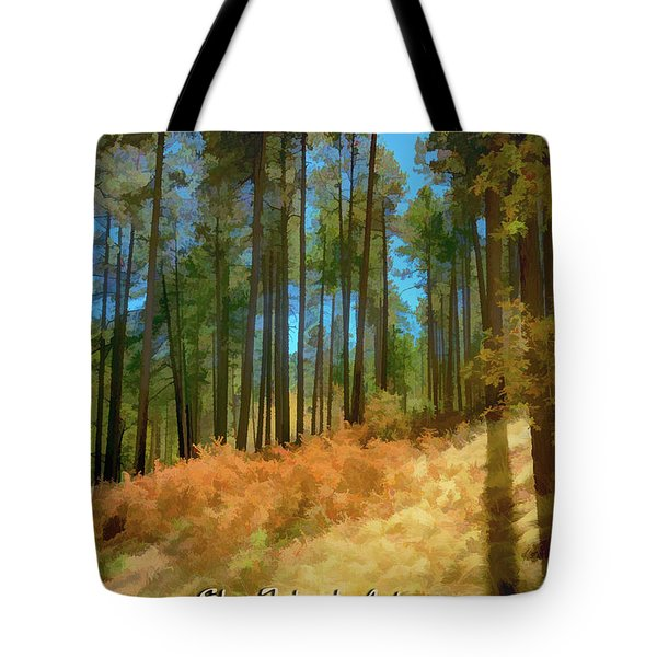 Sky Island Autumn Tote Bag