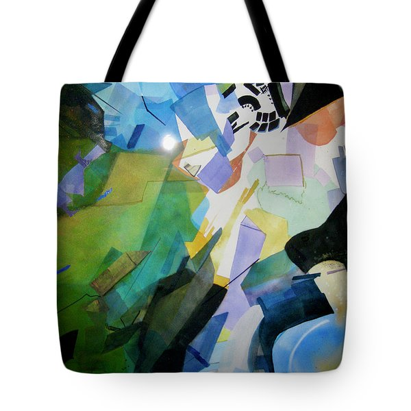Sky Light Tote Bag