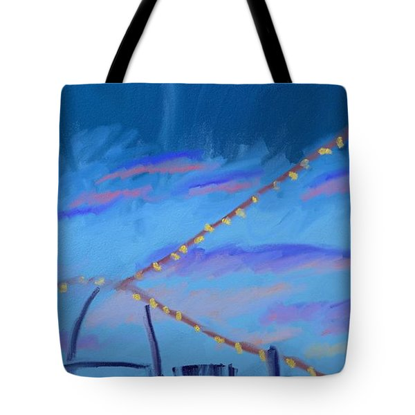 Sky Lights Tote Bag