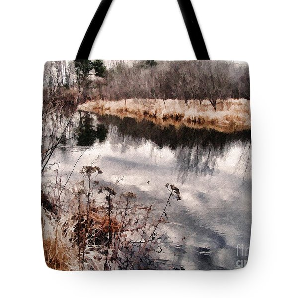 Sky Low Tote Bag by Betsy Zimmerli