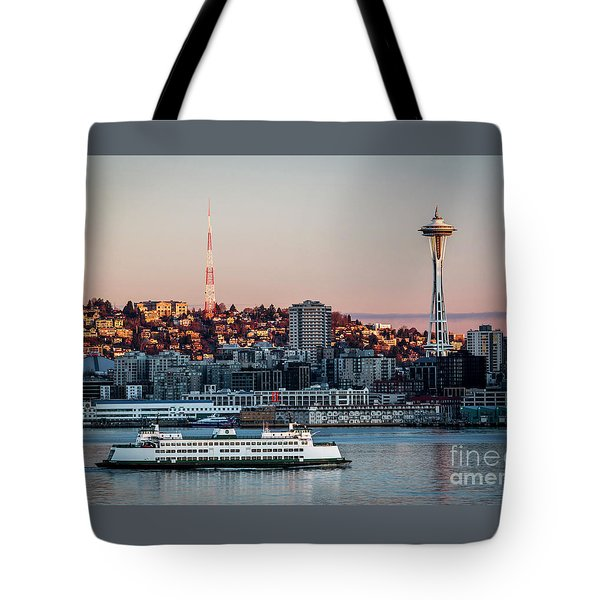Space Needle.seattle,washington Tote Bag