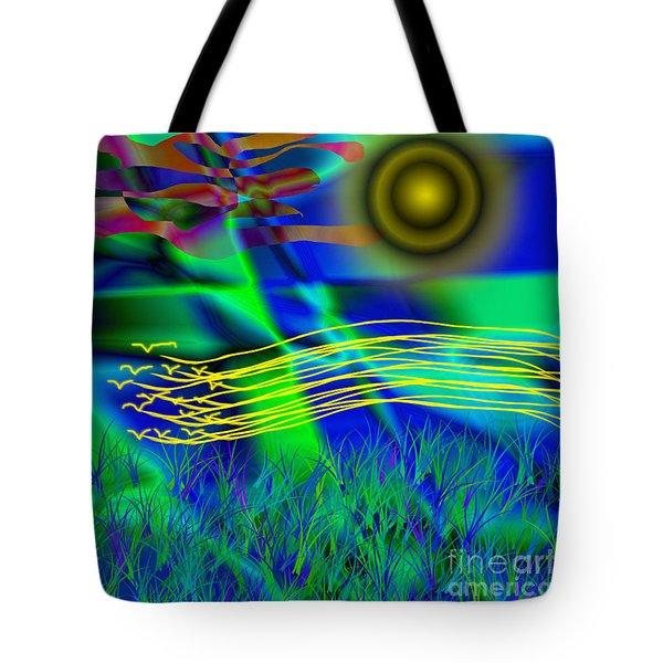 Sky Of Mind Tote Bag
