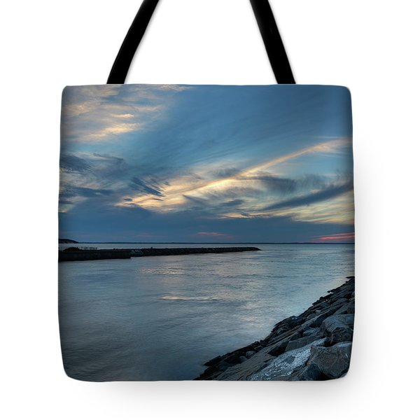 Sky Over Peconic Bay Tote Bag