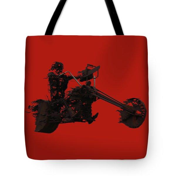 Sky Rider Tote Bag