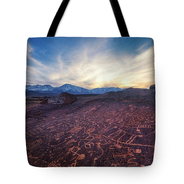 Sky Rock Tote Bag