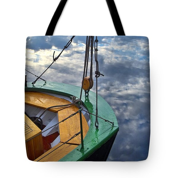 Sky Sailing Tote Bag by Robert Lacy