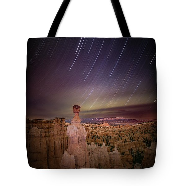 Sky Scraper Tote Bag by Edgars Erglis