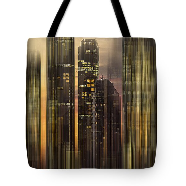 Sky Scrapers Tote Bag