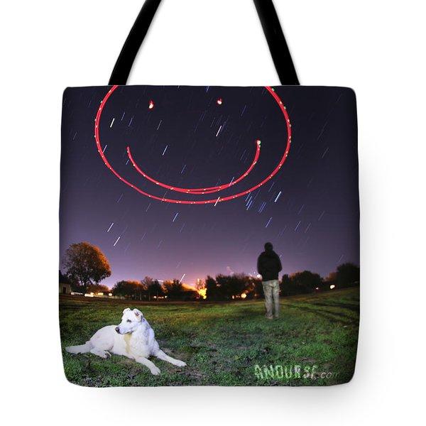Sky Smile Tote Bag