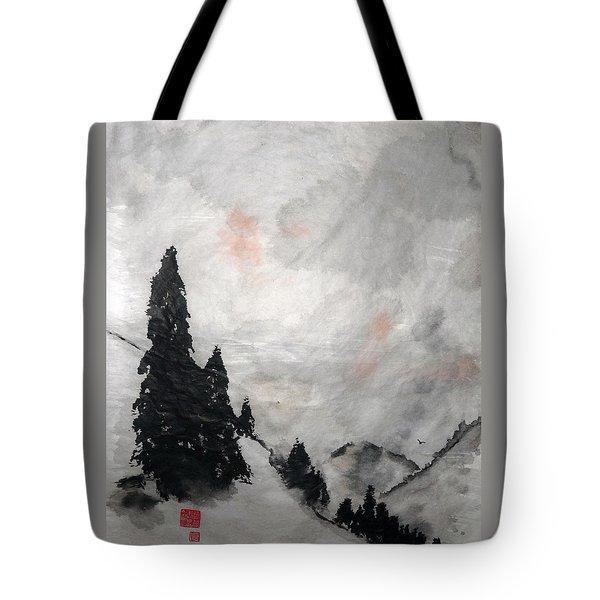 Sky Splendor Tote Bag