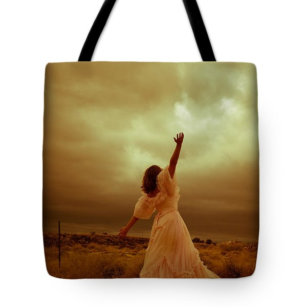 Sky Splitter Tote Bag