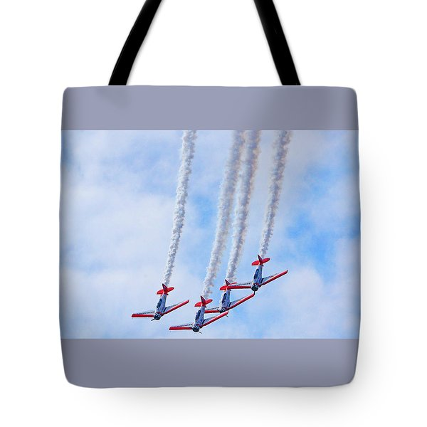 Sky Squadron Tote Bag