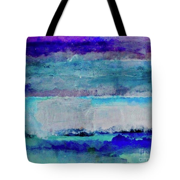 Sky Striations Tote Bag