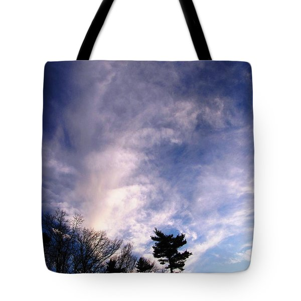 Tote Bag featuring the photograph Sky Study 2 3/11/16 by Melissa Stoudt