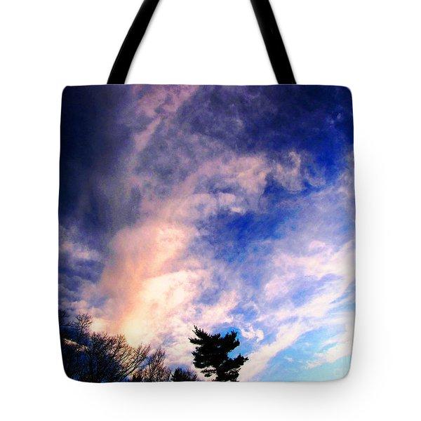 Sky Study 5 3/11/16 Tote Bag