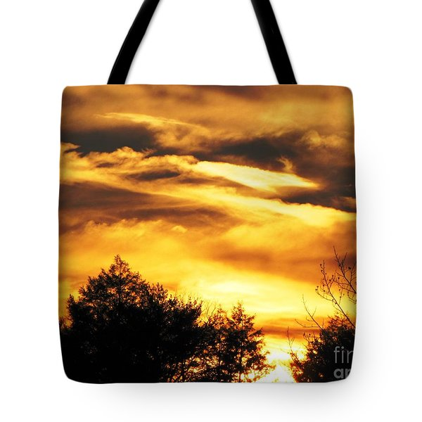 Tote Bag featuring the photograph Sky Study 7 3/11/16 by Melissa Stoudt