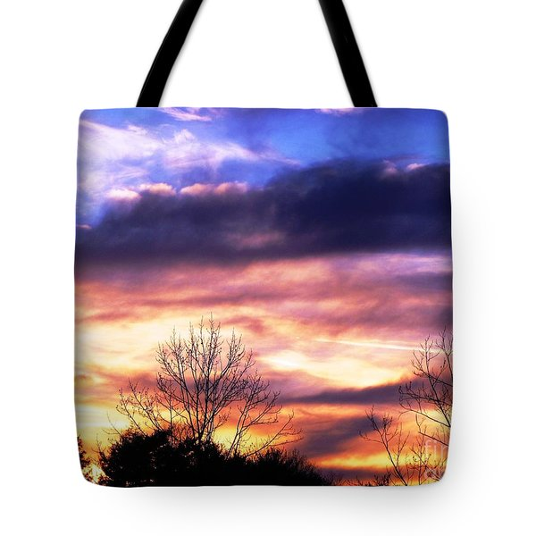 Tote Bag featuring the photograph Sky Study 8 3/11/16 by Melissa Stoudt