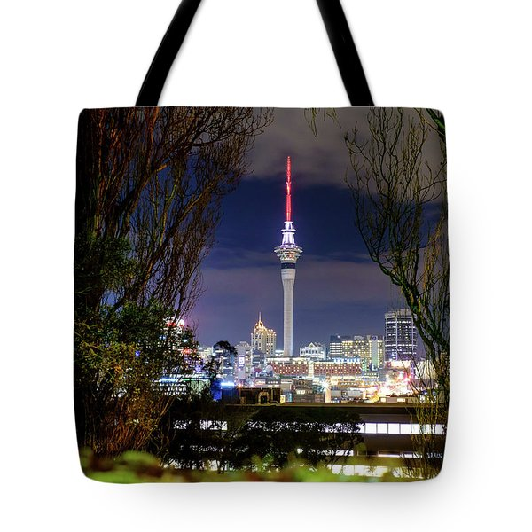 Sky Tower Tote Bag