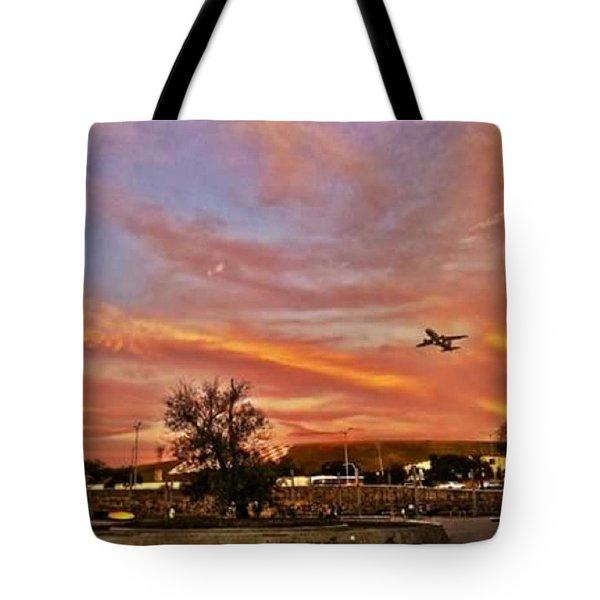 Sky Track #instasampa #ig_saopaulo Tote Bag