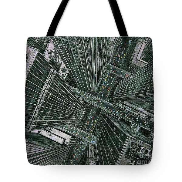 Sky View City Tote Bag