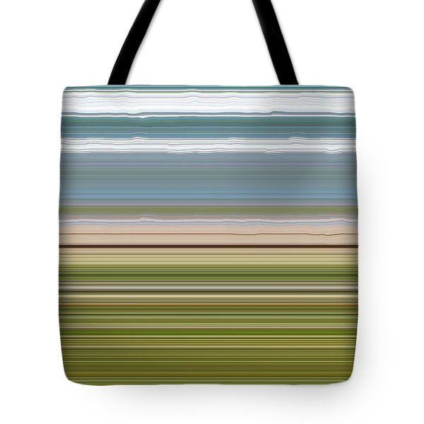 Sky Water Earth Grass Tote Bag by Michelle Calkins
