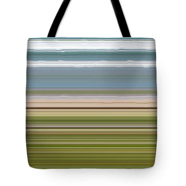 Sky Water Earth Grass Tote Bag