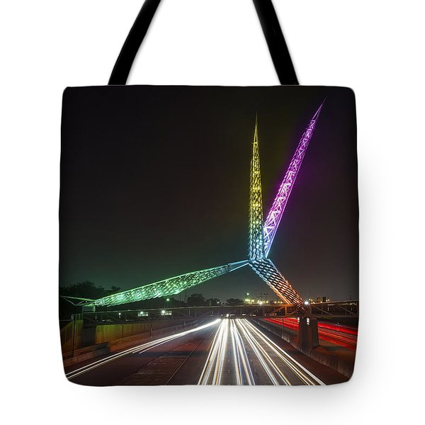 Skydance Bridge Okc Tote Bag