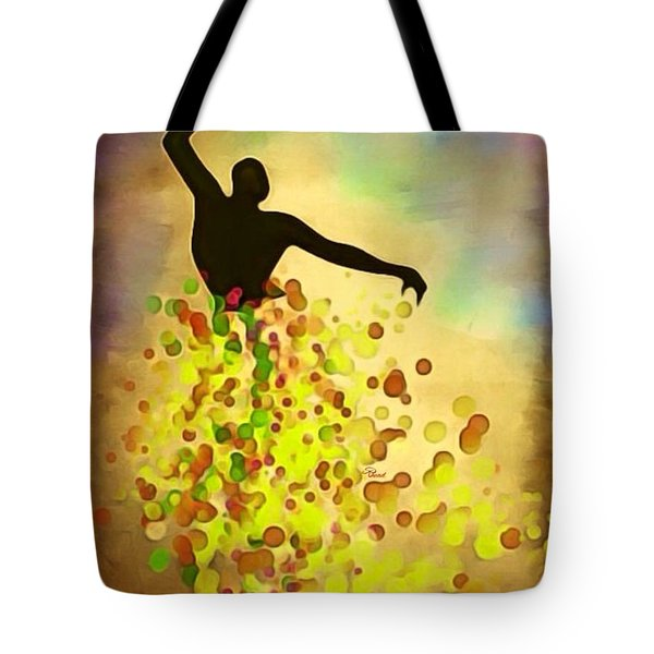 Skyfallincolor Tote Bag