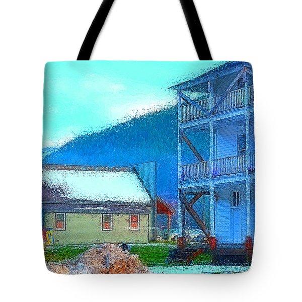 Skykomish  Tote Bag by Tobeimean Peter