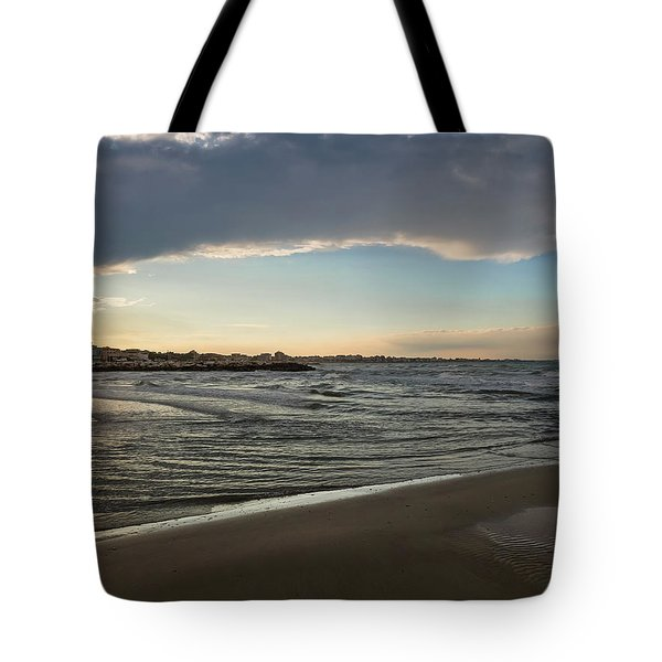 Skylight After Storm Tote Bag