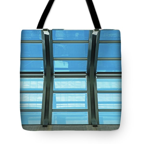 Tote Bag featuring the photograph Skylight.. by Nina Stavlund