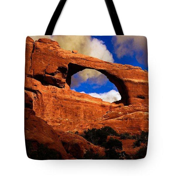 Skyline Arch Tote Bag