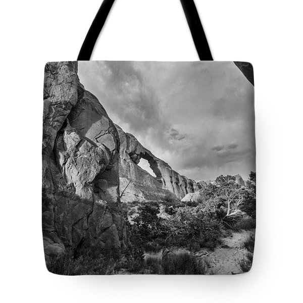 Skyline Arch Tote Bag