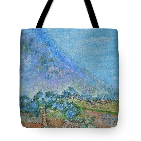 Skyline Drive Begins Tote Bag