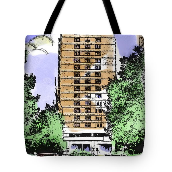 Skyline House Condo Tote Bag