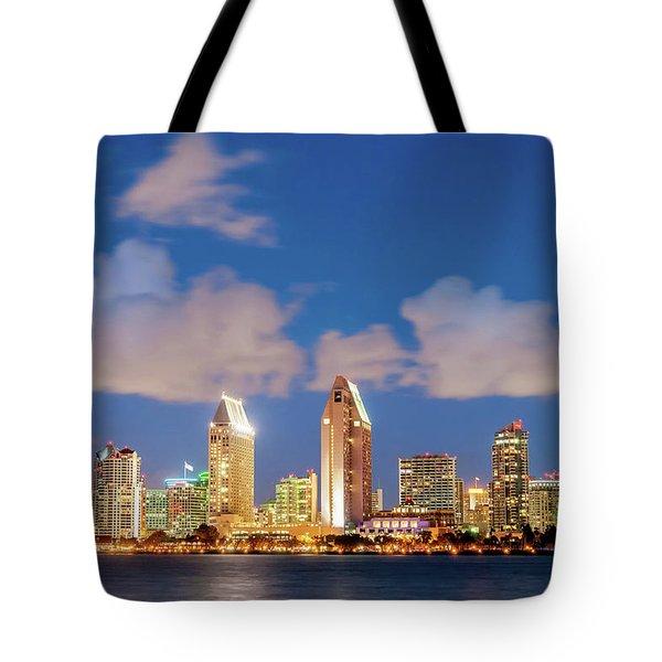 Skyline In The Wind Tote Bag