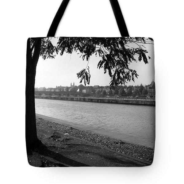 Skyline Maastricht Tote Bag by Nop Briex