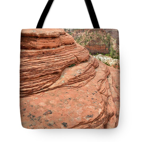 Skyline Sandstone Tote Bag