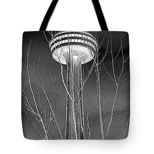 Tote Bag featuring the photograph Skylon Tower by Valentino Visentini
