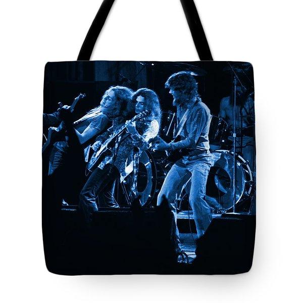 Blues In Spokane Tote Bag