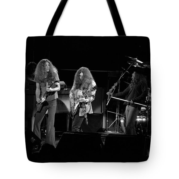 Skynyrd In Spokane Tote Bag by Ben Upham