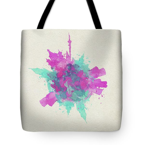 Skyround Art Of Moscow, Russia Tote Bag
