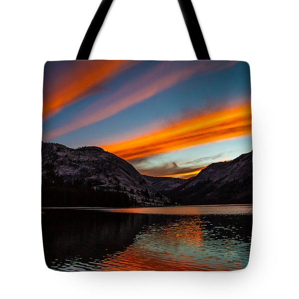 Skys Of Color Tote Bag by Brian Williamson