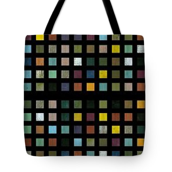 Skyscraper Abstract L Tote Bag by Michelle Calkins